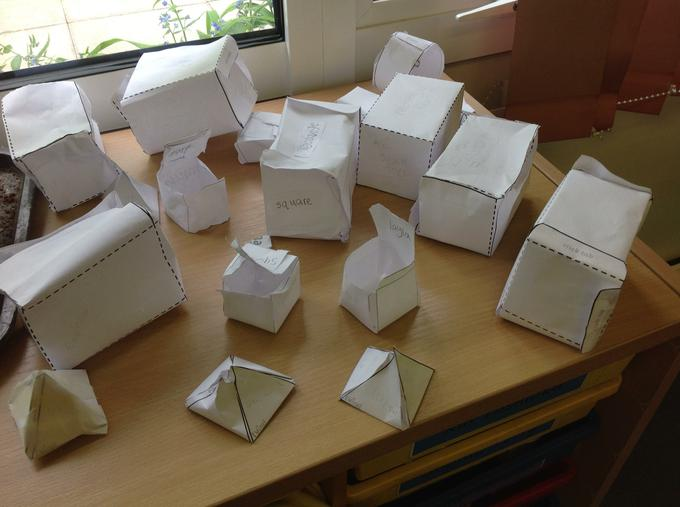 Our array of 3D shapes!