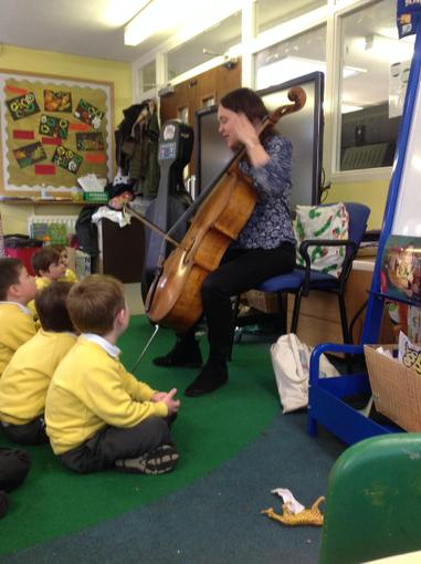 Our dinosaur themed music lesson