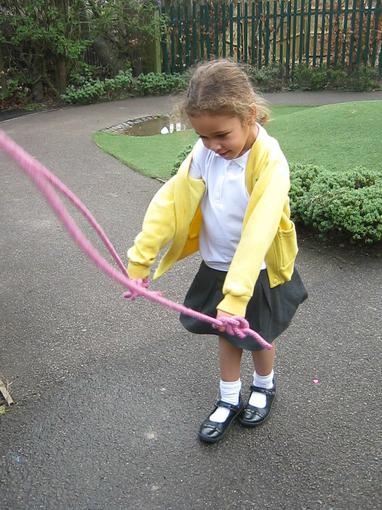 pracising our skipping skills