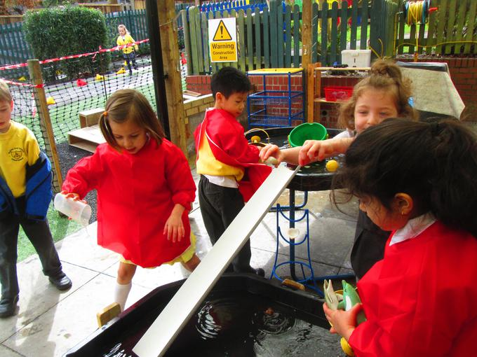 Outside - Water play