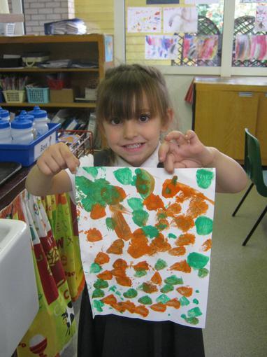 """""""Dinosaur footprints"""""""