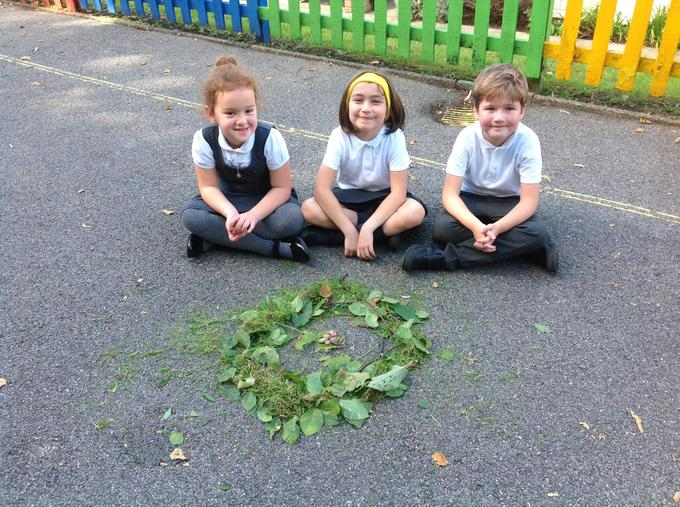 Look at our creation!