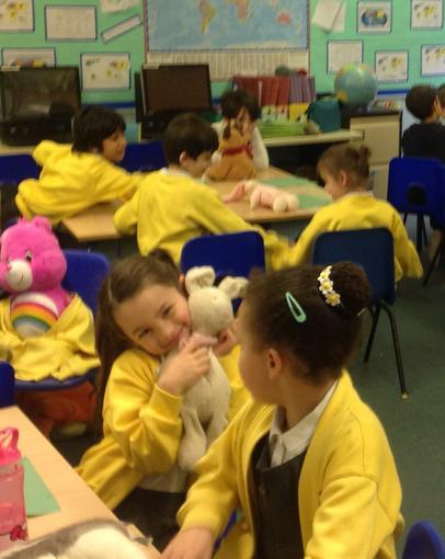 Enjoying our teddy bears picnic!