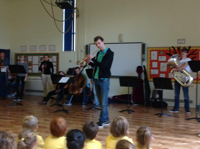 We enjoyed our visit from the Purcell School