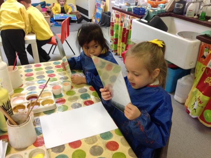 Painting our self-portraits