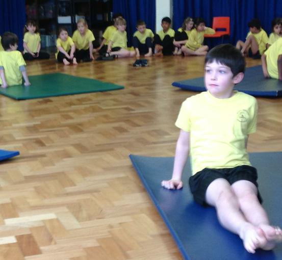 Sharing our gymnastic skills