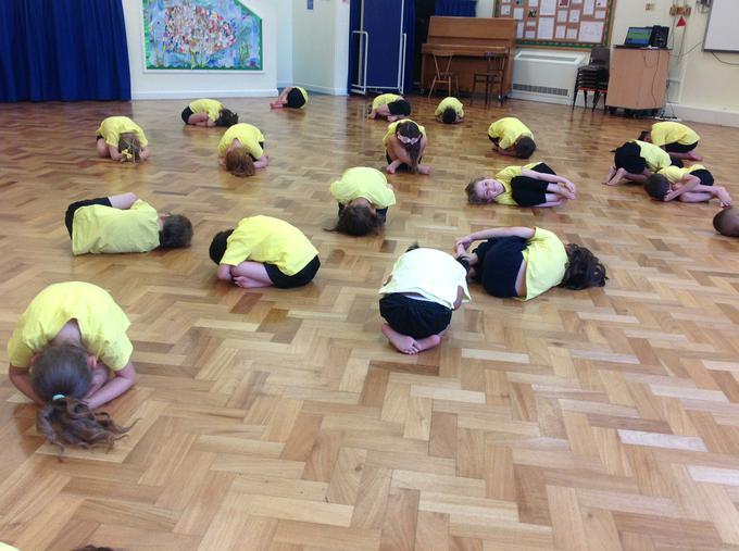 Gymnastics during PE
