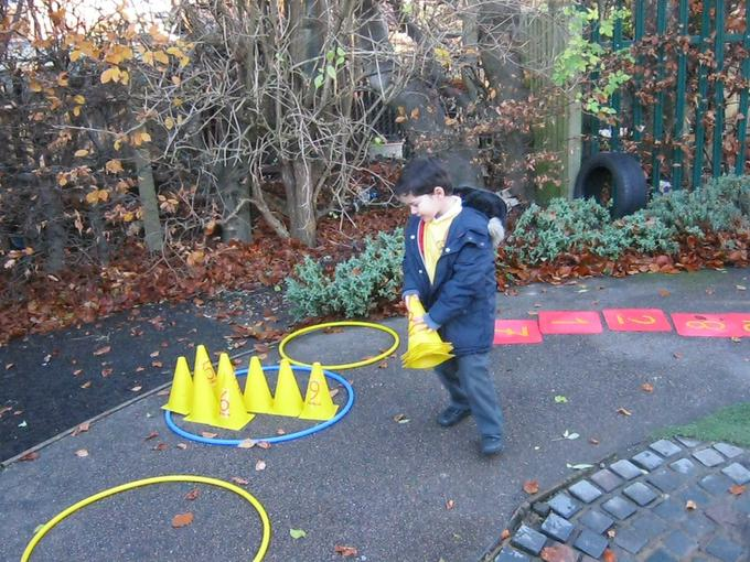 using cones on our course