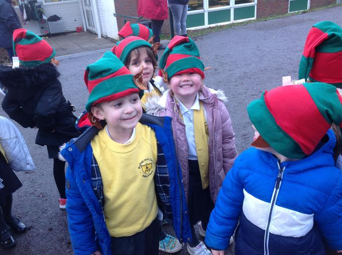 Ready for our Elf Run