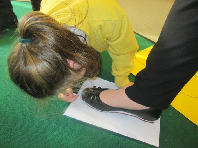 Measuring footprints