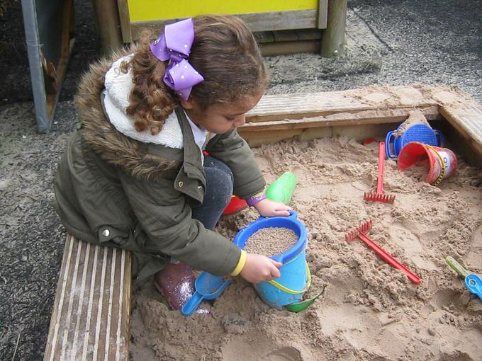 active learning in the sand