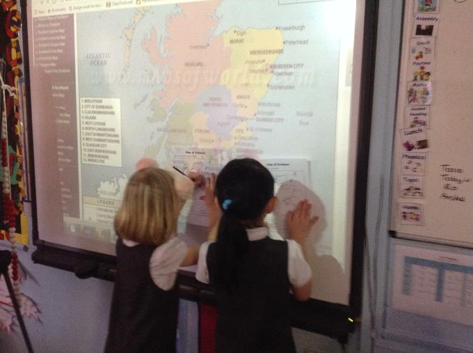 Learning about Scotland