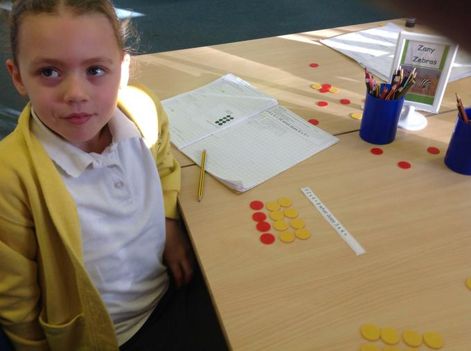 Learning about multiplication
