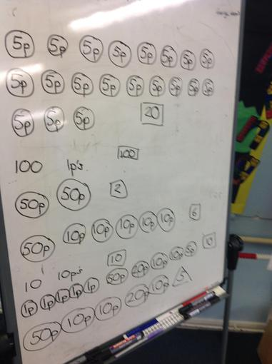 Look at our maths problem solving!