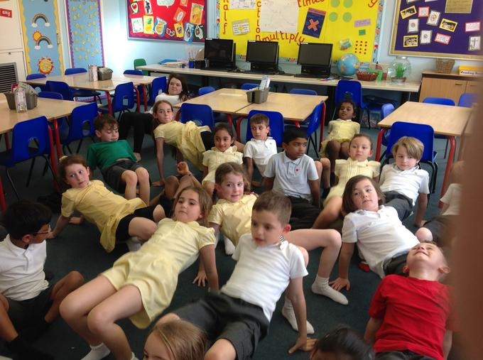 our class Yoga