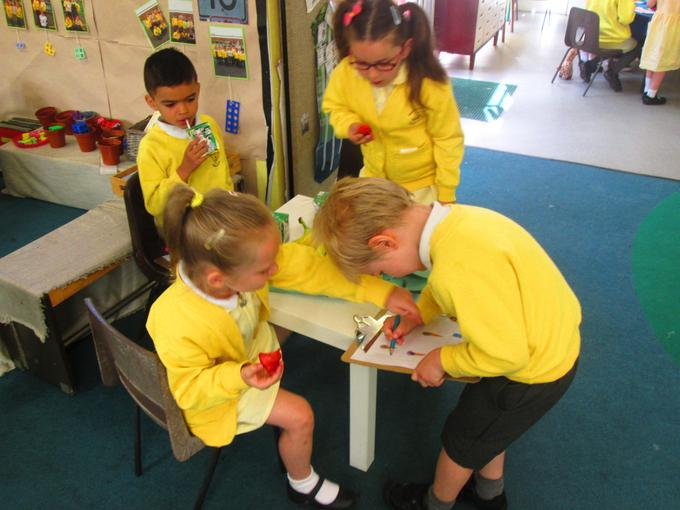 Tallying the class' favourite ice-creams