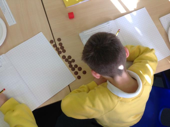 Using chocolate to make arrays