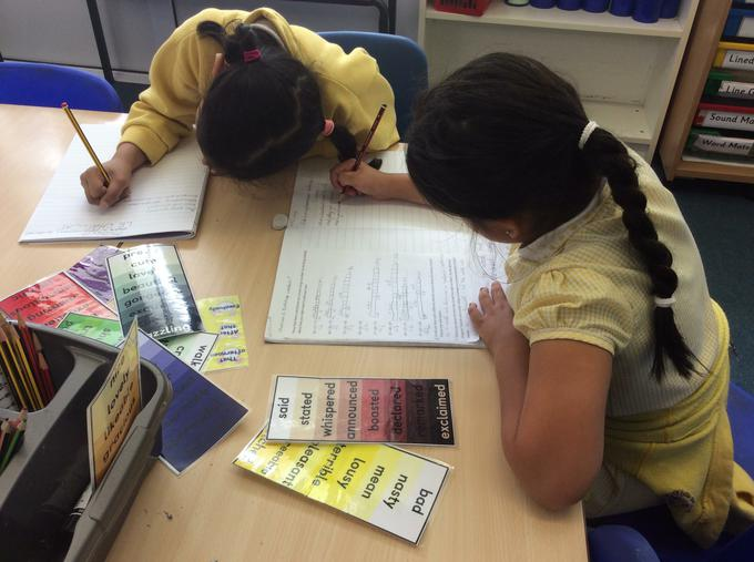 What fantastic sentences we are writing!