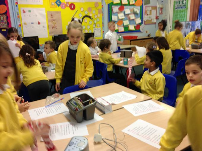 Practising to perform our poems