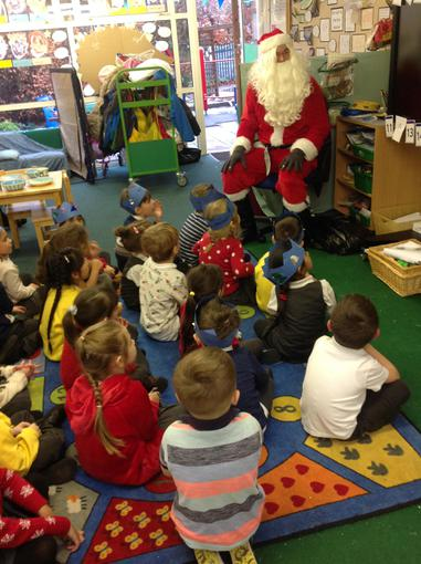 Our visit from Santa