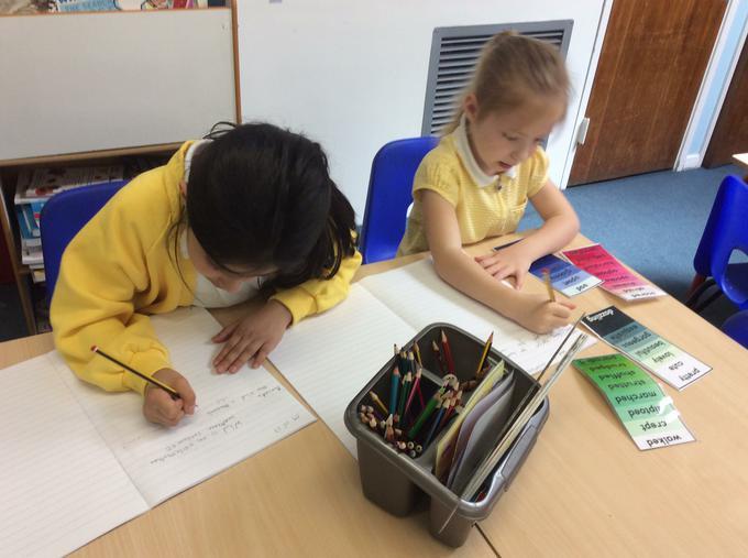 Writing exclamation sentences