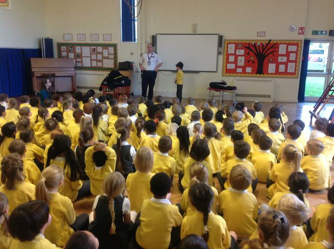 The whole school enjoyed an amazing assembly