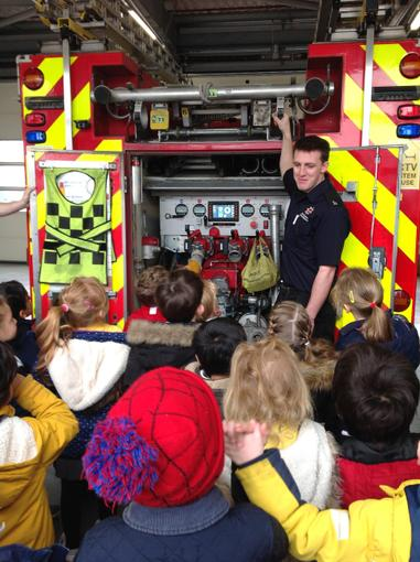 Our trip to the fire station