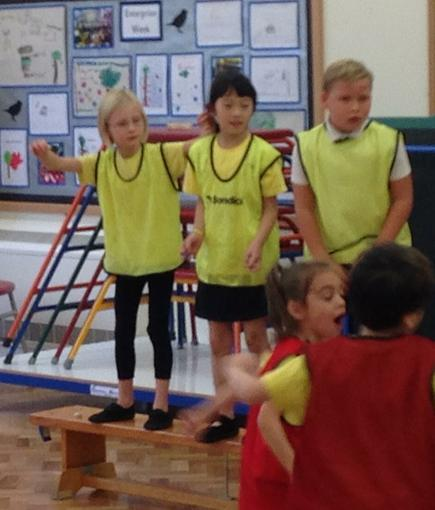 Our class PE competition