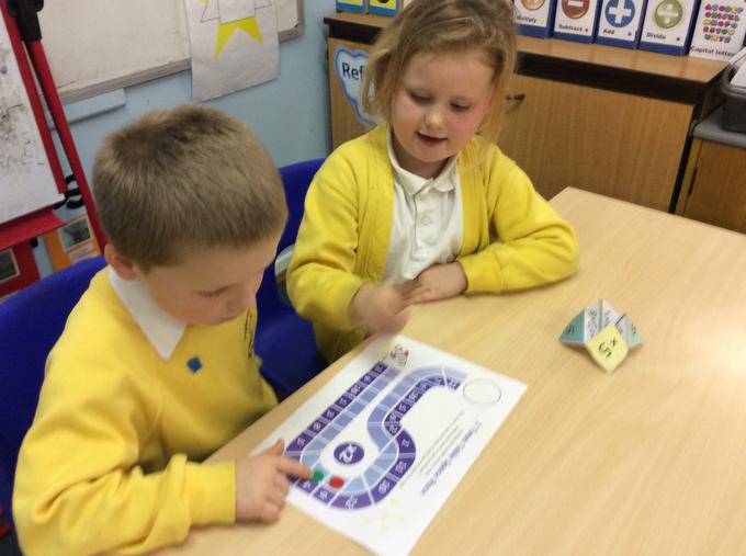 Times tables race around space