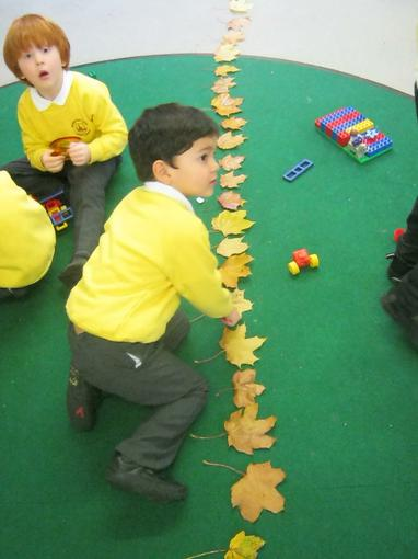 counting the number of fallen leaves