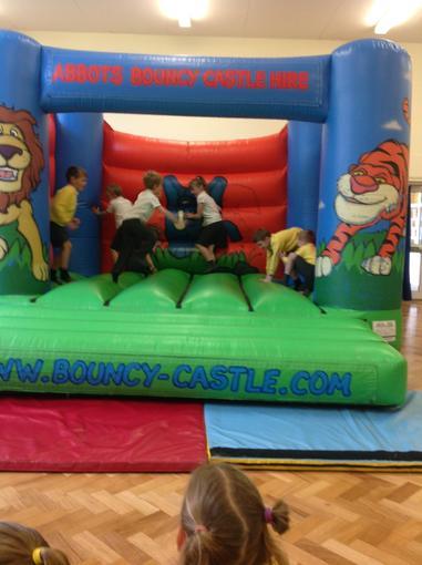 More bouncing!