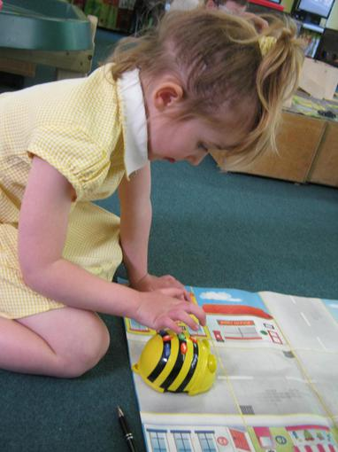 Exploring the Bee-bots