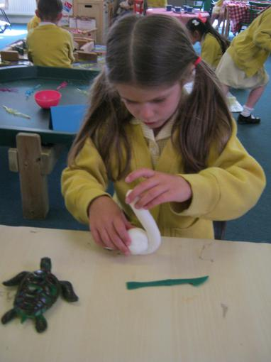 We used tools when making our models