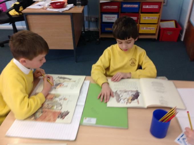 Practising our comprehension skills