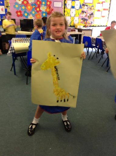 Look at our paintings!