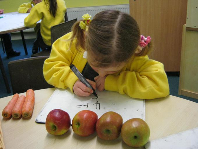 Working out the price of the fruit