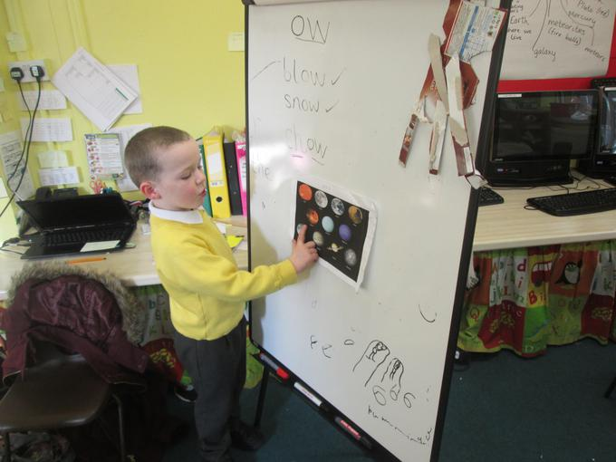 Sharing our home learning