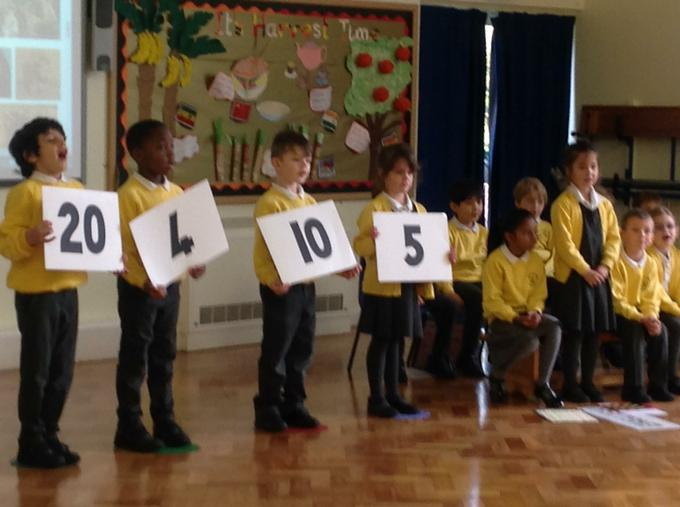 Performing our class assembly