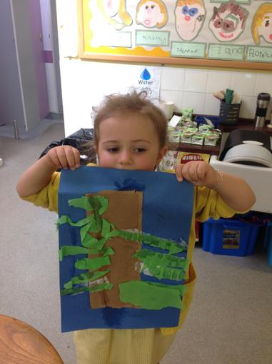 Jack and the beanstalk collages
