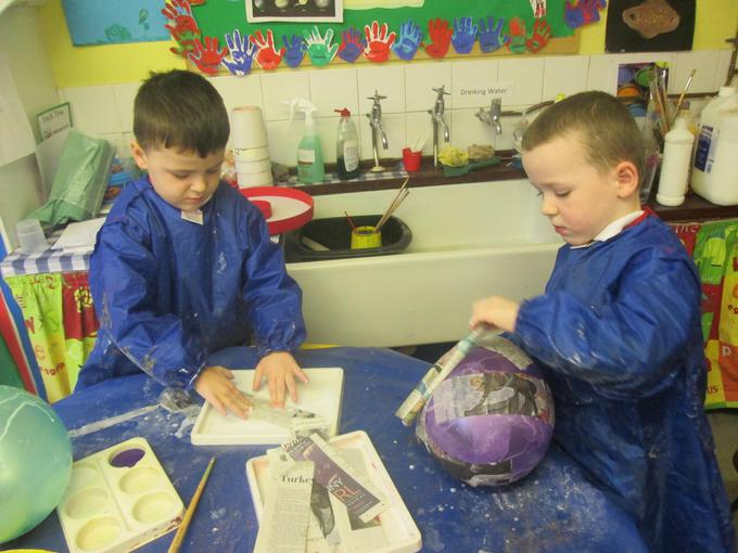 We have been making planets