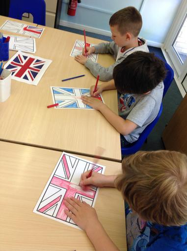 Decorating flags