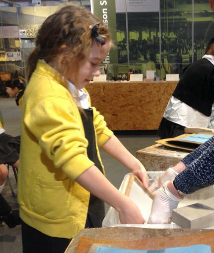 Paper making!