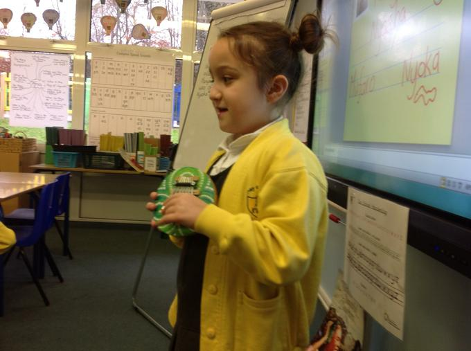 Show and tell of an African instrument