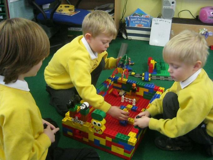 working together to build a space station