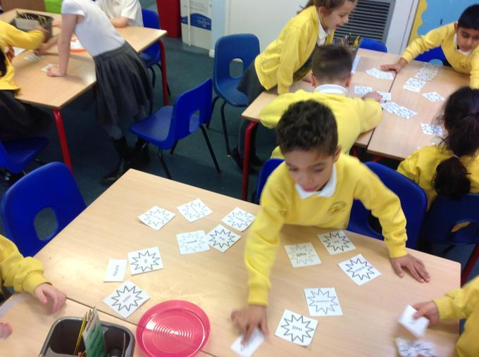 Then we tried to sort these words