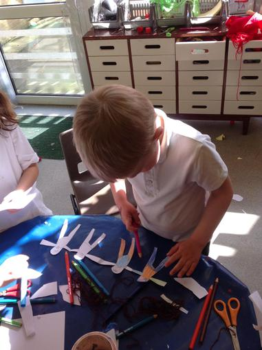 Making our own paper dolls