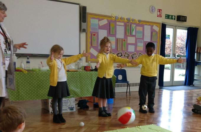 Investigating which ball will drop the quickest
