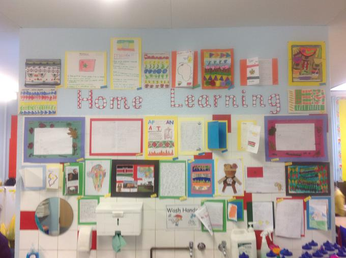 Some of our AMAZING home learning!