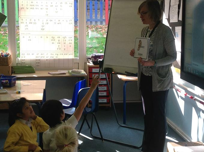Learning through questions with Mrs Sherwood