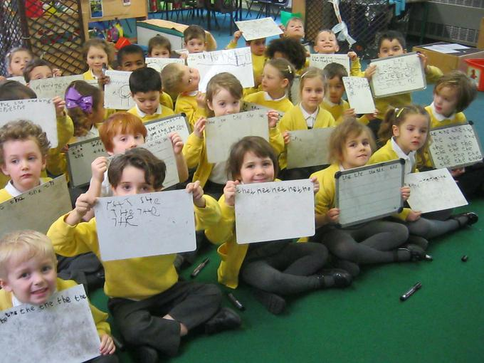 handwriting skills in phonics